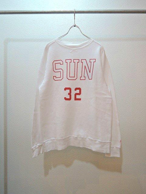 "【SUNNY SPORTS】""SUN""FREEDOM CREW-NECK(WOMEN):メイン画像"