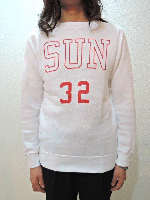 "【SUNNY SPORTS】""SUN""FREEDOM CREW-NECK(WOMEN):画像4"