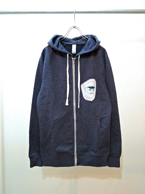 【SALTY'S】SALTY CAPTAIN PATCH HOODY:メイン画像
