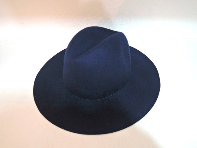 【ARGYLL AND BUTE】LONG BRIM WOOL FEDORA:画像1