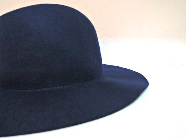 【ARGYLL AND BUTE】LONG BRIM WOOL FEDORA:画像3