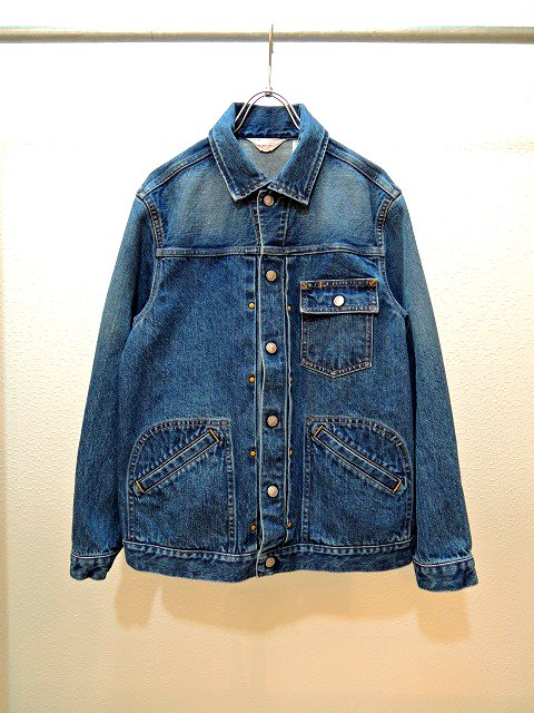 ��TOWN CRAFT��PLEATS WESTERN JACKET