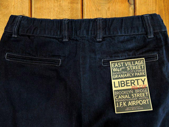 【JAPAN BLUE JEANS】LIBERTY PEG TOP NICE TROUSERS:画像3