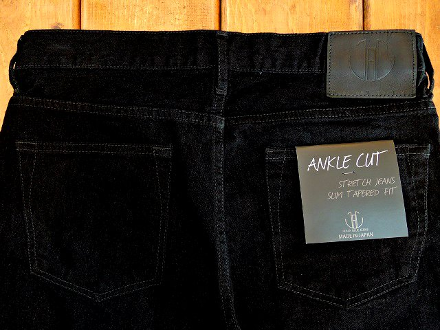 【JAPAN BLUE JEANS】ANKLE CUT FRENCH STRETCH TAPERED:画像2