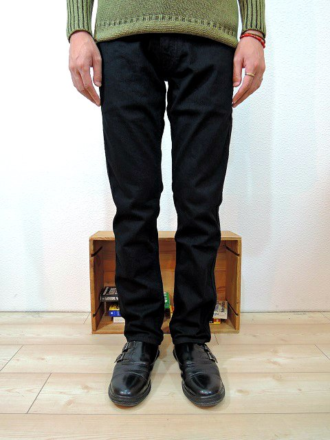 【JAPAN BLUE JEANS】ANKLE CUT FRENCH STRETCH TAPERED:画像3