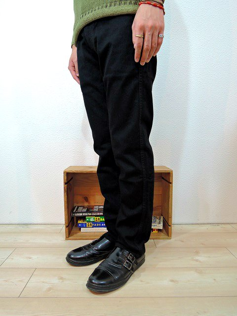 【JAPAN BLUE JEANS】ANKLE CUT FRENCH STRETCH TAPERED:画像4