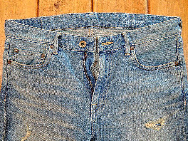 【JAPAN BLUE JEANS】10oz CALIF DENIM GROVE:画像2