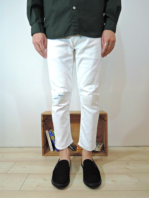 【JAPAN BLUE JEANS】10oz MILITARY CROPPED DENIM CHARLIE:画像4
