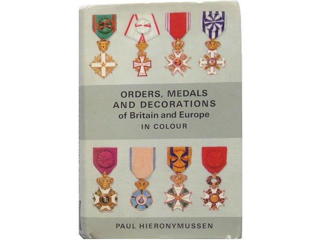 ヨーロッパの勲章写真集