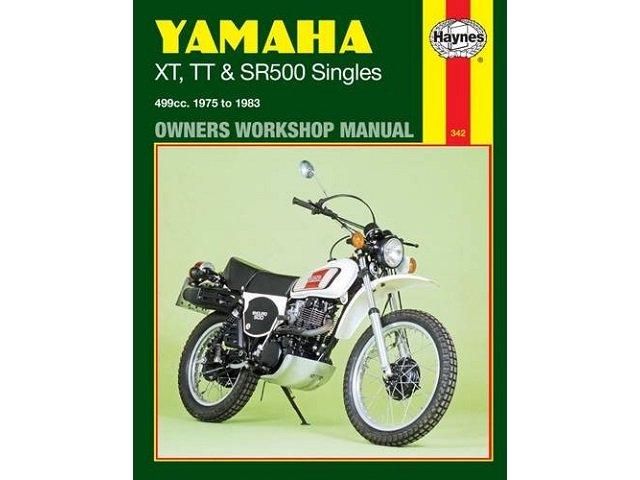 ヤマハ XT TT SR500 サービスマニュアル 75-83