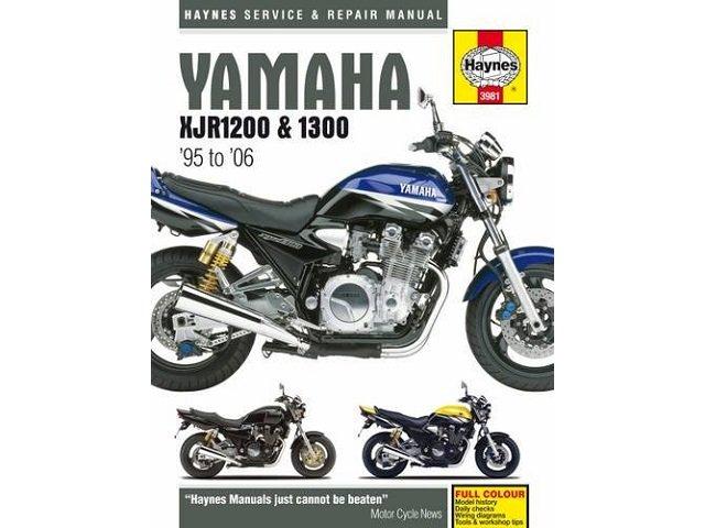 ヤマハ XJR1200と1300 サービスマニュアル 95-06