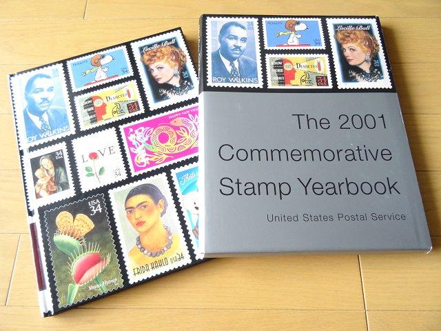 アメリカ郵便局 記念切手付き冊子 2001...