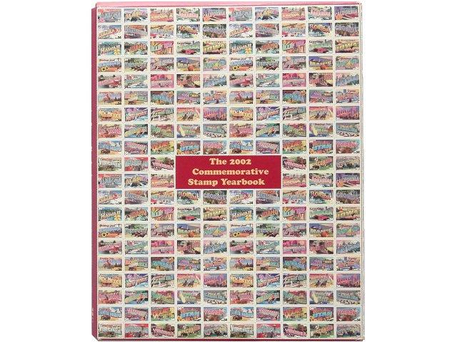 アメリカ郵便局 記念切手付き冊子 2002...