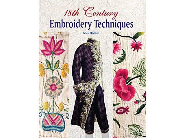 18世紀の刺繍テクニック