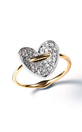 bend ring heart
