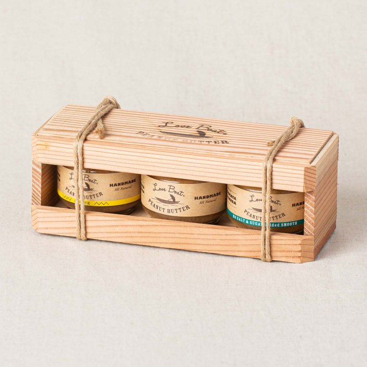 LoveBoatピーナッツバター木箱ギフトセット