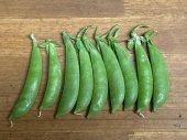 自然栽培スナップエンドウ100g