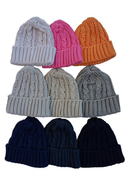 maillot  cotton knit cap (コットンニットキャップ) 9COLORS