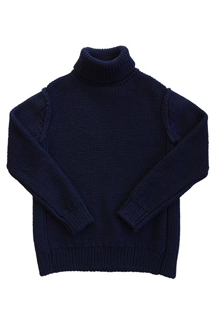 JOHN SMITH HIGH NECK KNIT(ハイネックニット)NAVY