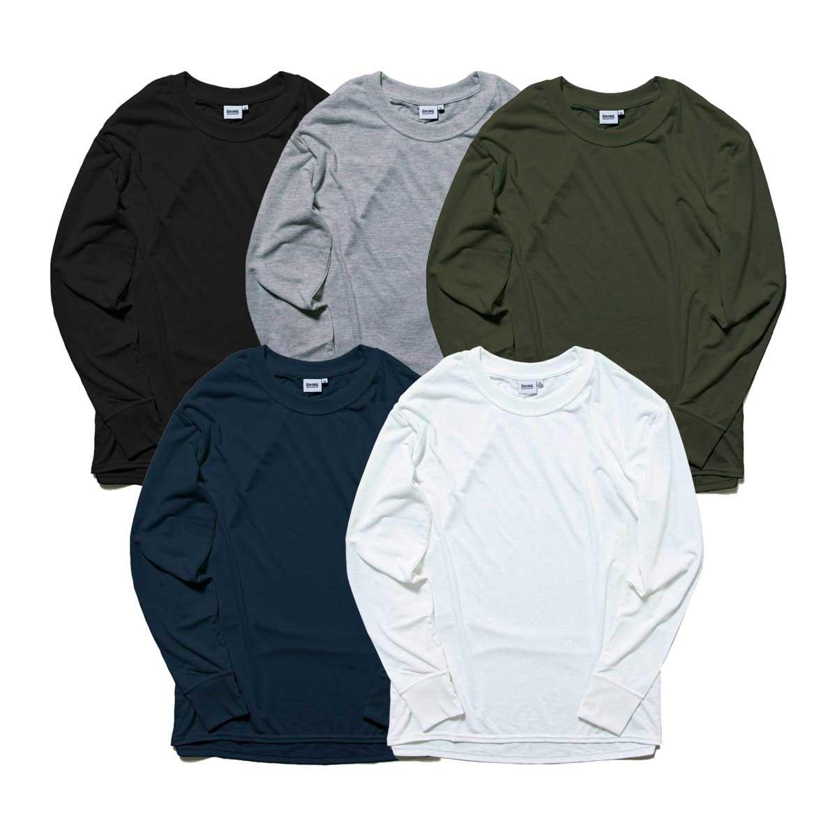 BRING DRY LOG SLEEVE T-SHIRT ロングスリーブ Tシャツ