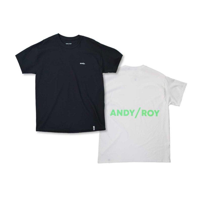 ANDY/ROY NEON LOGO TEE Tシャツ