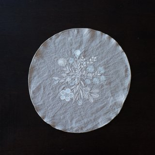 tenp04 リネン フラワーベース(冬色)