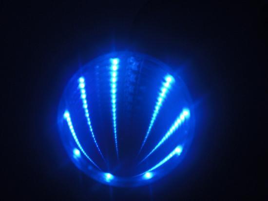 LEDホール 青色■ゆうパケット対応■