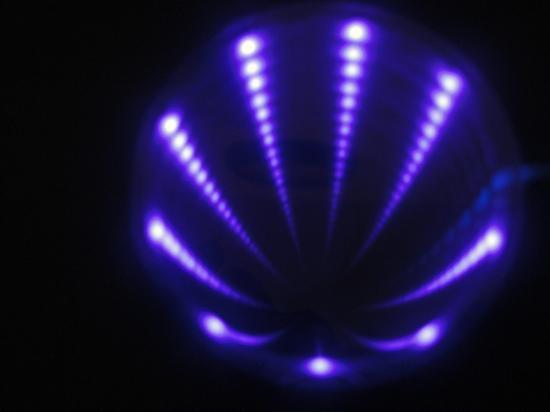 LEDホール (紫)