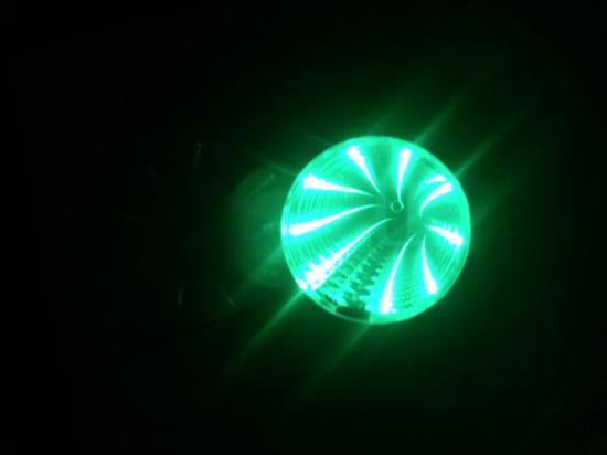 LEDホール 緑(グリーン)■ゆうパケット対応■