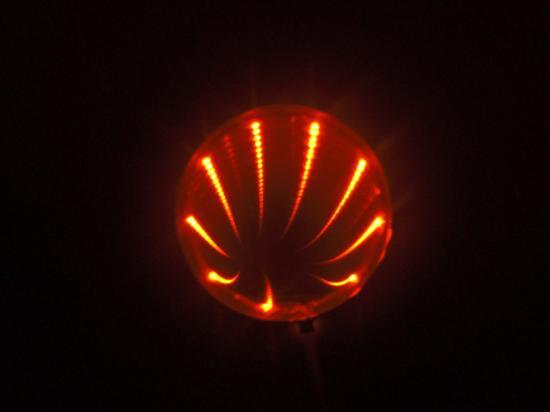 LEDホール 赤 (レッド)■ゆうパケット対応■