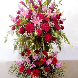 rp-003 春限定!優雅なスタンド花(二段)