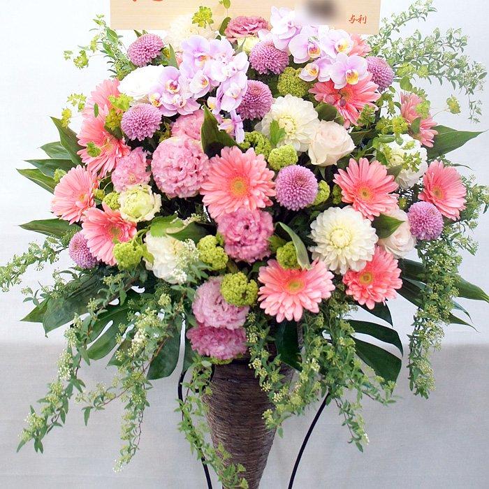 rp-011 ふわふわピンクにこだわったスタンド花