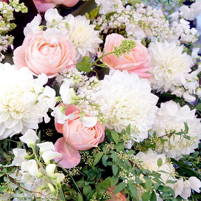 rp-012 春限定!カラーがメインのペールトーンスタンド花