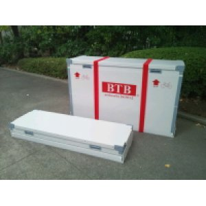 折り畳み可能で丈夫な輪行箱 (ハニカムコア採用のアスリートモデル)