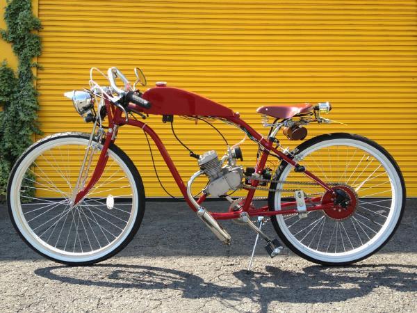 自転車にエンジンが付いた ...