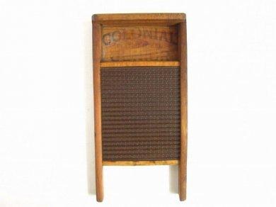 ビンテージ アメリカ洗濯板 看板 インテリア/店舗什器/アンティーク/D123
