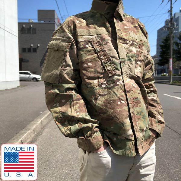新品/米軍/US ARMY/マルチカム/ACU/ジャケット【M-S】アーミー コンバット ユニフォーム/デッドストック/D128
