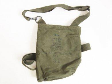 ビンテージ/米軍/M9A1/ガスマスク/ショルダー バッグ/ナム戦/D128