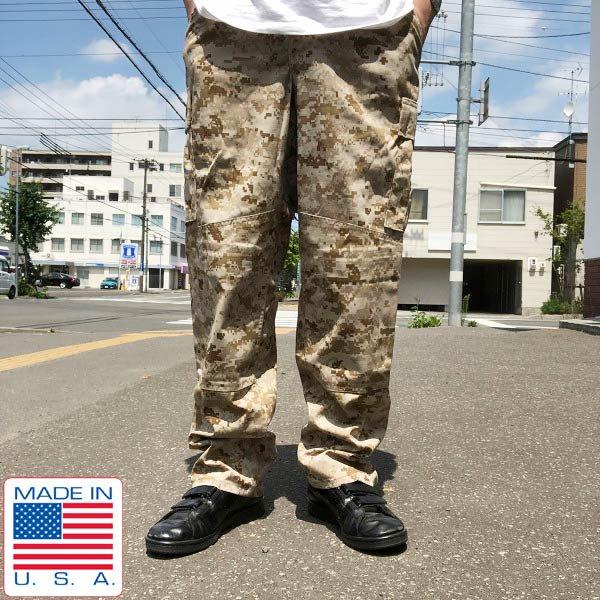 新品/USA製/実物/米軍/USMC/マーパット/デザート カモ/迷彩/パンツ【S-S】ミリタリーパンツ/カーゴパンツ/デッドストック/D121