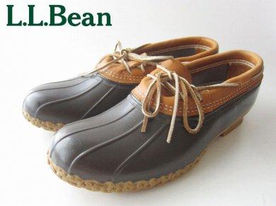 USA製 L.L.Bean/ビーンブーツ 革紐 モカシン タイプ【31cm】ガムブーツ/LLビーン/D120