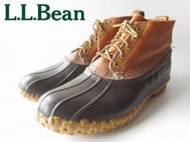 ビンテージ/80's/USA製【L.L.Bean】ビーンブーツ/5ホール/ガムブーツ【29.5cm】LLビーン/エルエルビーン/D110