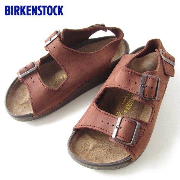 ビルケンシュトック/ヌバック レザー/サンダル/茶系【41/26.5cm】メンズ/靴/BIRKENSTOCK/D132
