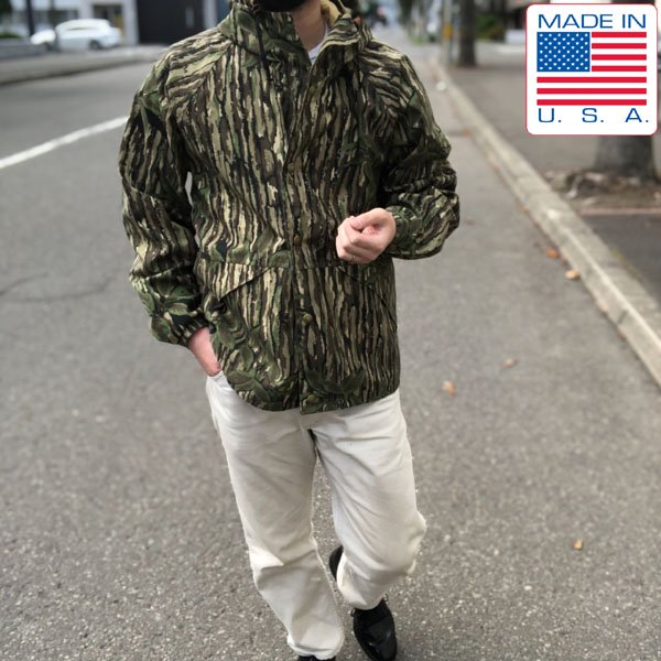 USA製/Cabela's/カベラス/迷彩/ゴアテックス/マウンテンパーカー【M】リアルツリー カモ/ジャケット/アメリカ製/ビンテージ/D134