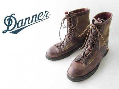 【Danner】ビンテージ/90's/黒タグ/USA製/ダナー/レザー×ゴアテックス/ブーツ/ダークブラウン系【29cm】/D137