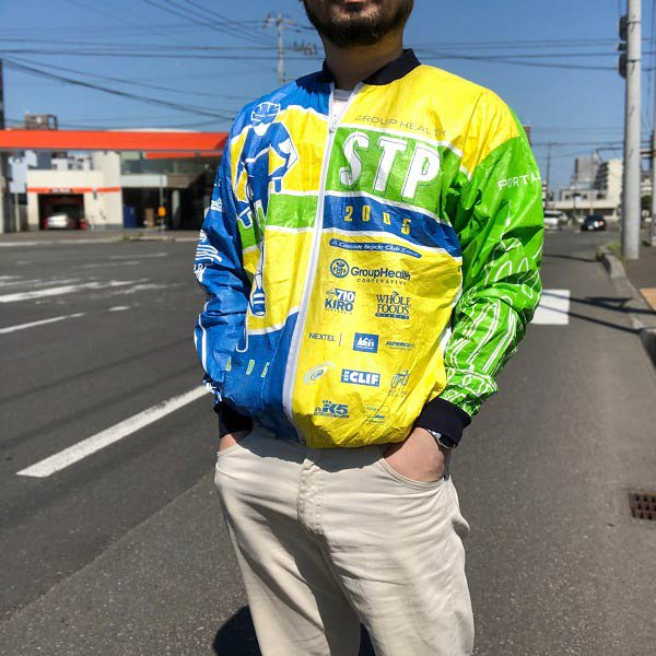 2005年/LESLIE JORDAN/STP/自転車/ペーパージャケット【L】サイクル/バイシクル/D137