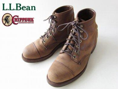 USA製/L.L.Bean×チペワ/カタディン/アイアン ワークス/エンジニアブーツ【7D/25cm】LLビーン/エルエルビーン/Chippewa/メンズ/靴/D138
