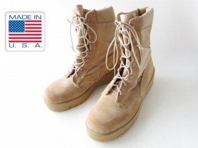 USA製/実物/米軍/ALTAMAデザートブーツ/ベージュ系【8R/26cm】編み上げ/レースアップ/サバゲー/メンズ/靴/ジャングルブーツ/D138