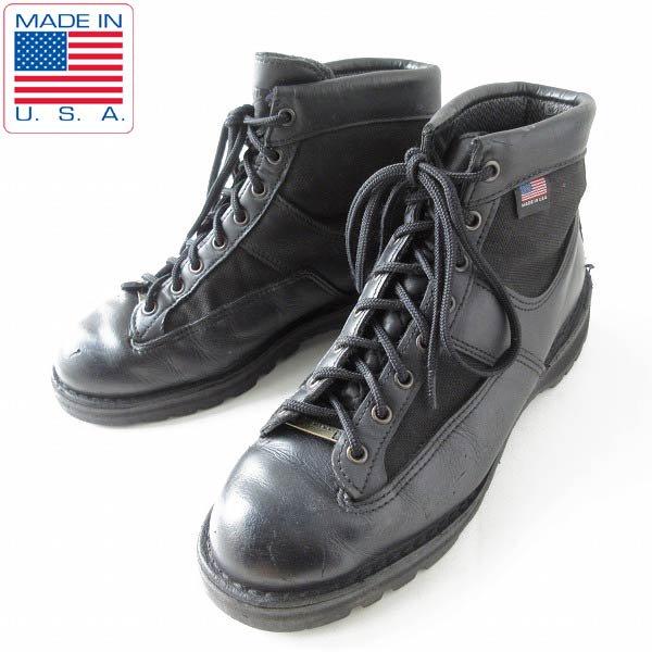 USA製/Danner/ダナー/パトロール6/ブーツ/黒【27cm】レザー×ゴアテックス/GORE-TEX/D138