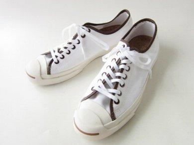 《新品》【CONVERSE】コンバース/ジャックパーセル/スニーカー/白系【US10.5/28.5cm】JP JACK OX/メンズ/靴/D139