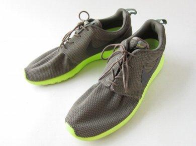 NIKE/ナイキ/ローシラン/ROSHERUN/スニーカー【US12/30cm】Tarp Green/Deep Smoke/メンズ/靴/大きいサイズ/D138